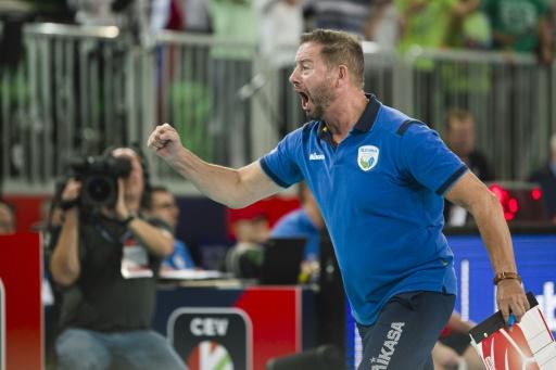 Euro de volley: la Russie, tenante du titre, au tapis, sortie par la Slovénie en quarts