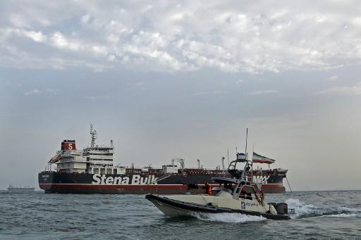 Le pétrolier Stena Impero a quitté son mouillage en Iran