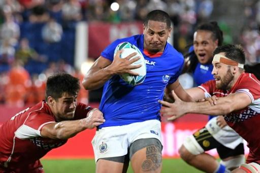 Mondial de rugby: les Samoa peinent mais battent la Russie avec bonus
