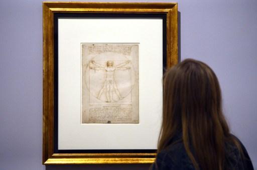 L'Italie va prêter le célèbre dessin