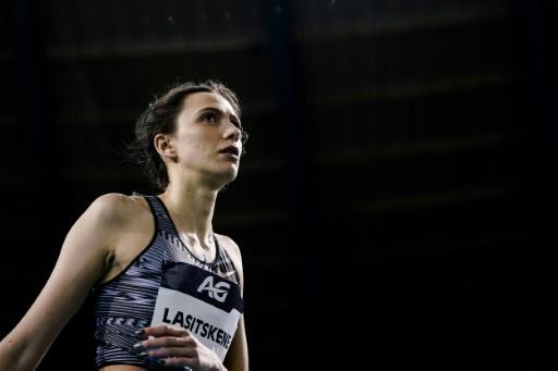 Dopage: la championne du monde Lasitskene tacle les autorités russes