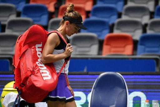 WTA Wuhan: Simona Halep contrainte à l'abandon face à Elena Rybakina