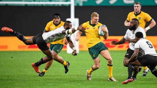 Mondial de rugby: trois matches de suspension pour l'Australien Hodge
