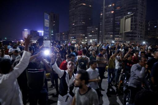 Egypte: plus de 1.000 arrestations après des manifestations anti-Sissi, selon des ONG