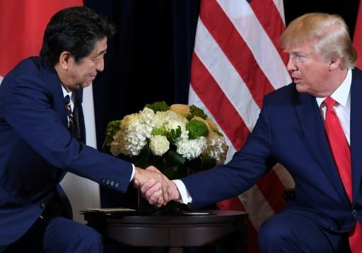 Etats-Unis et Japon signent