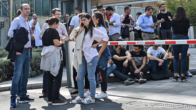 Istanbul secoué par un séisme de magnitude 5,7 (vidéos)