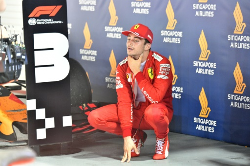 F1: Leclerc