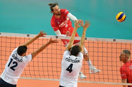 Euro de volley: alerte pour Julien Lyneel, touché à la cheville
