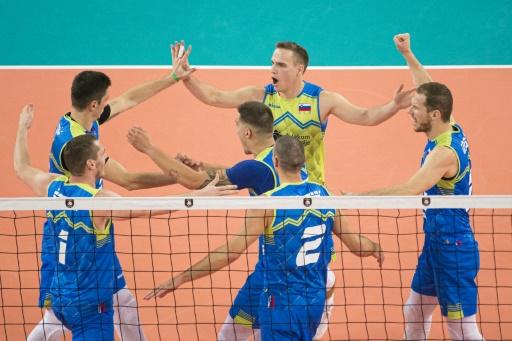 Euro de volley: la Slovénie sort la Pologne et se qualifie pour la finale