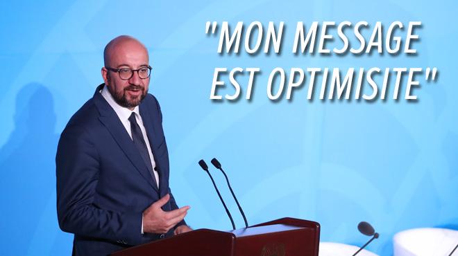 Charles Michel évoque forcément le climat au sommet de l'ONU: