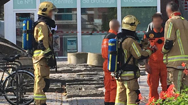 Évacuation du bureau de poste de la place Keym à Boitsfort: une poudre blanche non identifiée s'est échappée d'un paquet