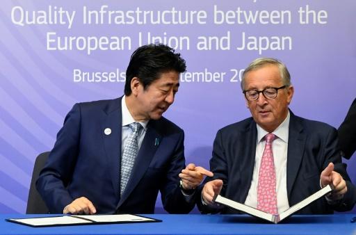L'UE et le Japon concoctent une réponse aux