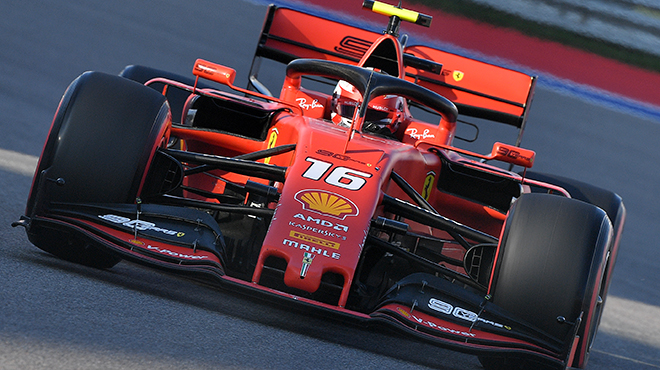 Nouvelle démonstration de Charles Leclerc, qui décroche sa quatrième pole position consécutive en Russie