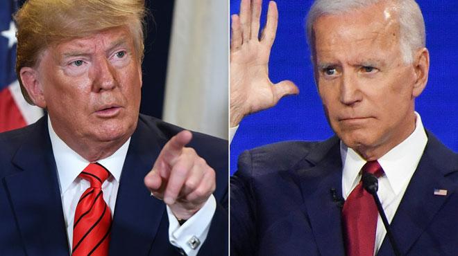 Joe Biden s'en prend à Trump dans un discours de campagne: