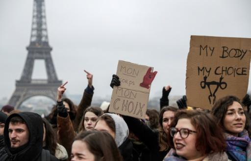 Rassemblements à Paris et en régions pour la journée pour le droit à l'avortement