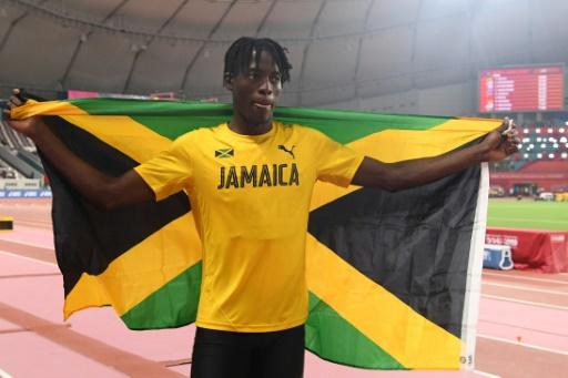 Athlétisme: le Jamaïcain Tajay Gayle champion du monde surprise à la longueur
