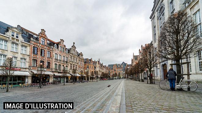 Louvain: un jeune homme poignardé avec un tournevis en plein centre-ville ce matin