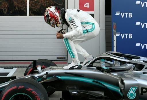 GP de F1 de Russie: victoire du Britannique Lewis Hamilton (Mercedes)