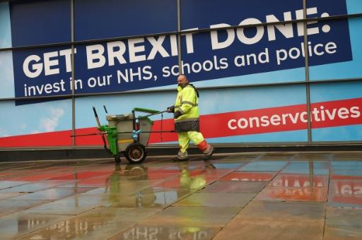 Au congrès des conservateurs britanniques, Brexit en avant toute