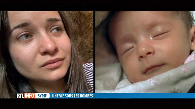 Rencontre avec Waad: pourquoi une mère reste vivre sous les bombes avec son bébé ?