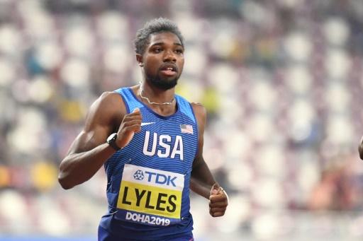 Mondiaux d'athlétisme: Lyles et De Grasse passent en demies du 200 m, pas le Français Fall