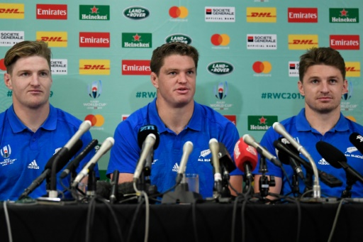 Mondial de rugby: les 3 frères Barrett titulaires avec les Blacks contre le Canada