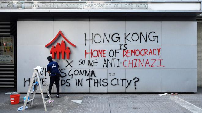 Hong Kong panse ses plaies après un nouveau dimanche de violences