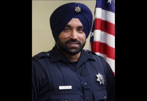 Le Texas honore la mémoire d'un policier Sikh