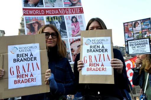 Rachat de Mondadori France: plus des deux tiers des journalistes quittent le groupe