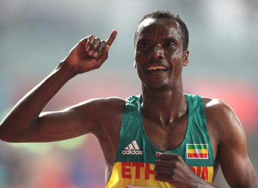 Mondiaux d'athlétisme: l'Ethiopien Muktar Edris conserve son titre sur 5.000 m