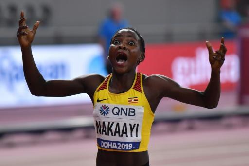 Athlétisme: l'Ougandaise Nakaayi championne du monde du 800 m en l'absence de Semenya