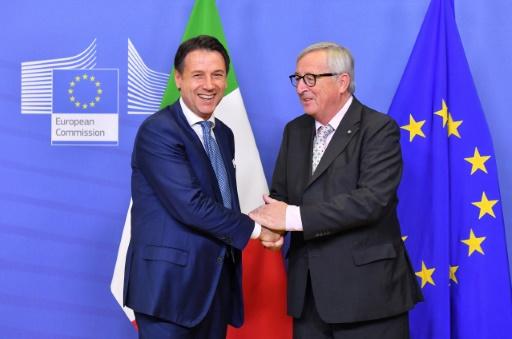 L'Italie annonce un déficit public modéré pour éviter un conflit avec Bruxelles