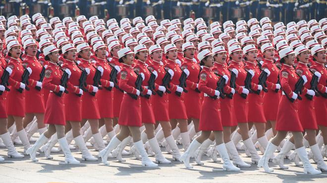 70 ans de la République populaire de Chine qui étale sa puissance dans un défilé gigantesque