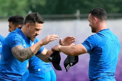 Mondial de rugby: les All Blacks cherchent la bonne combinaison au centre
