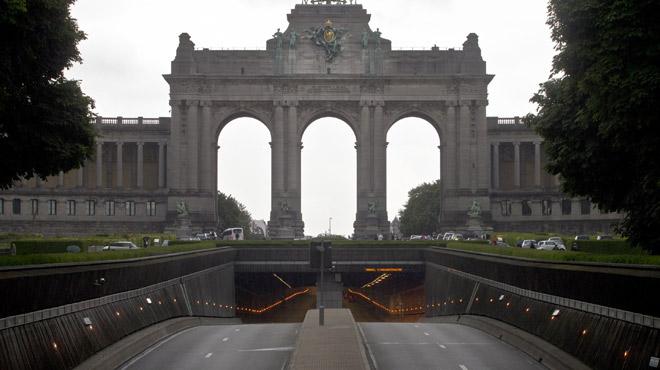 Bruxelles: les tunnels Cinquantenaire et Loi fermés à la circulation