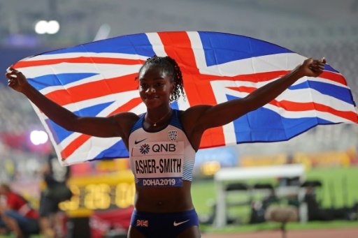 Mondiaux d'athlétisme: Asher-Smith, le nouveau bijou de sa majesté