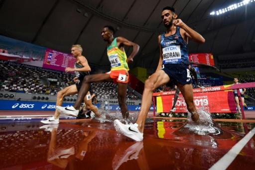 Mondiaux d'athlétisme: Bedrani assure en séries du 3.000 m steeple