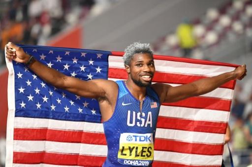 Mondiaux d'athlétisme: Lyles exact au rendez-vous