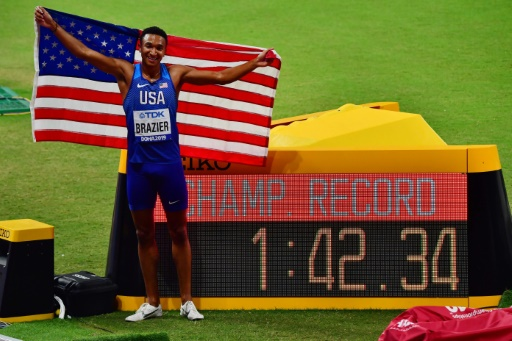 Mondiaux d'athlétisme: Brazier trouverait