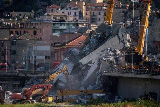 Effondrement d'un viaduc à Gênes: pas de procès avant 2022