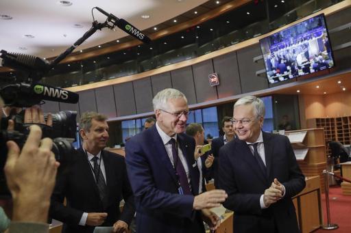 L'audition de Didier Reynders suspendue à la suite d'une coupure de courant