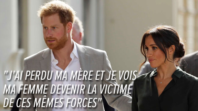 Voici toute la lettre DÉCHIRANTE du prince Harry contre le harcèlement de Meghan: