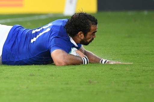 Mondial de rugby: le XV de France légèrement devant à la mi-temps contre les Etats-Unis 12 à 6