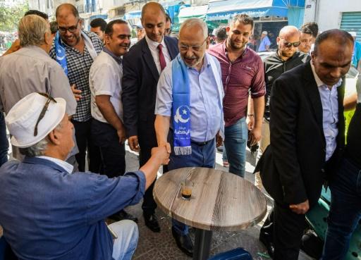 Tunisie: chef du parti Ennahdha, le