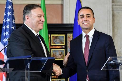 Chine et 5G : Pompeo met en garde Di Maio, qui juge l'Italie en sécurité