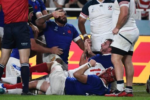 Mondial de rugby: les Bleus ont