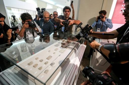 Iran: 300 tablettes antiques exposées après leur retour des Etats-Unis