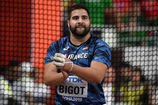 Mondiaux d'athlétisme: Bigot en argent au marteau, première médaille française