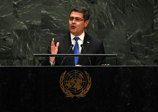 Le président hondurien accusé d'avoir reçu des millions de dollars de narcotrafiquants
