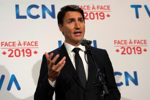 Canada: Trudeau à l'offensive lors d'un premier débat télévisé